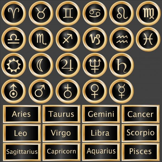 Astrology Signs And Symbols Chicago Psychic Tarot Cards